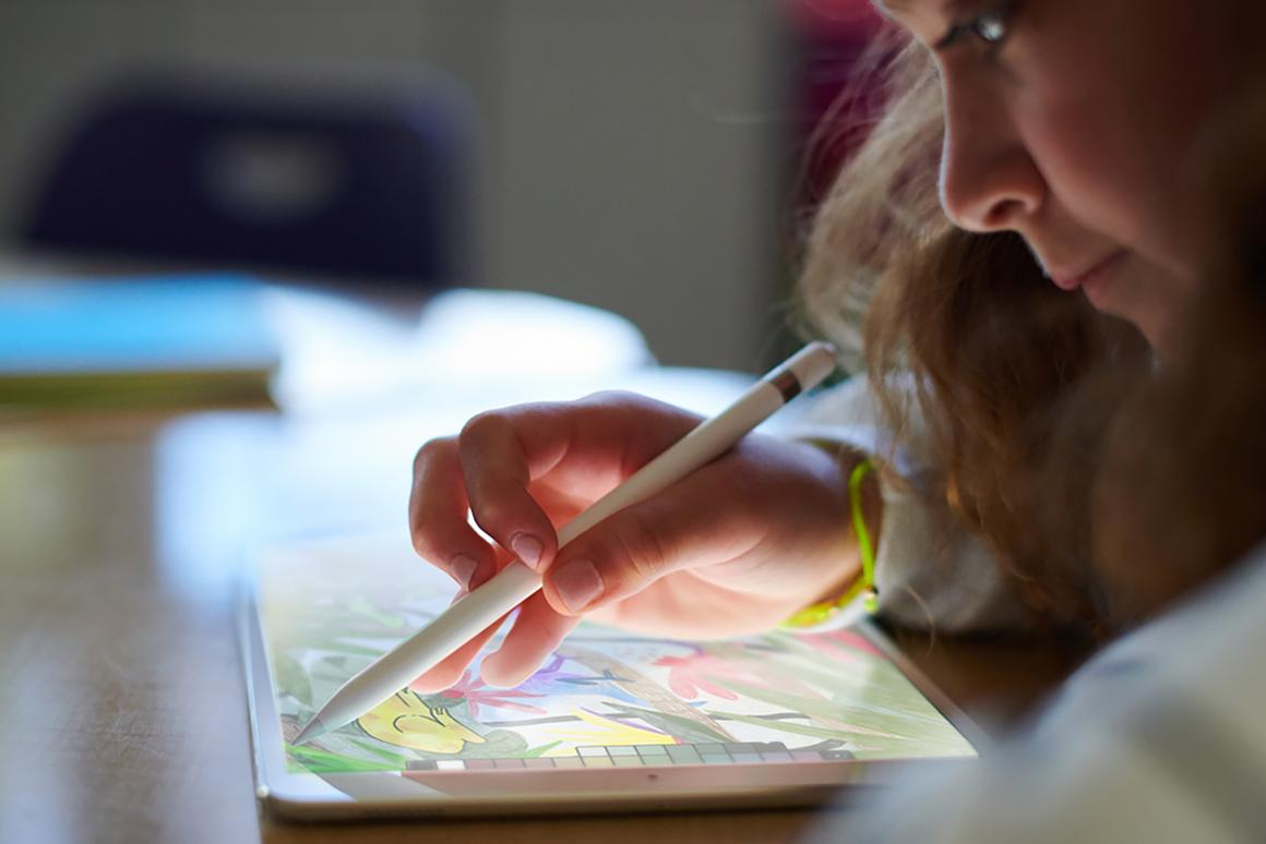 Apple is pitching the new iPad at schools, but it's available for anyone