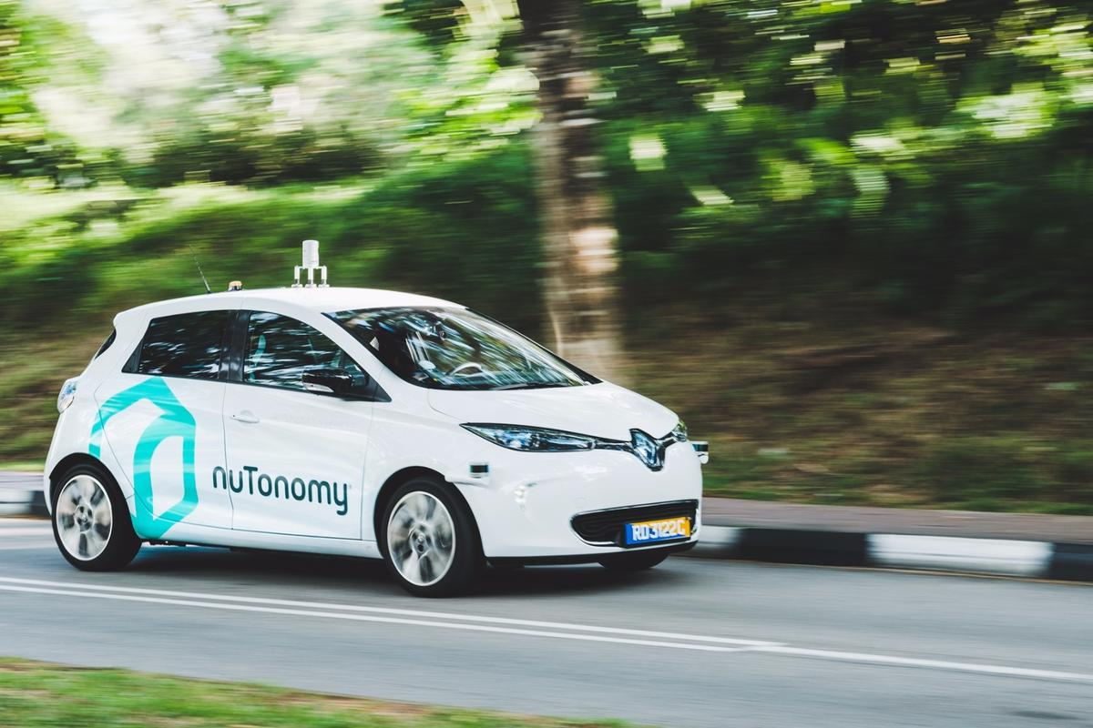 NuTonomy says it is the first and, to date, only private enterprise approved by the Singapore government to test autonomous vehicles on public roads