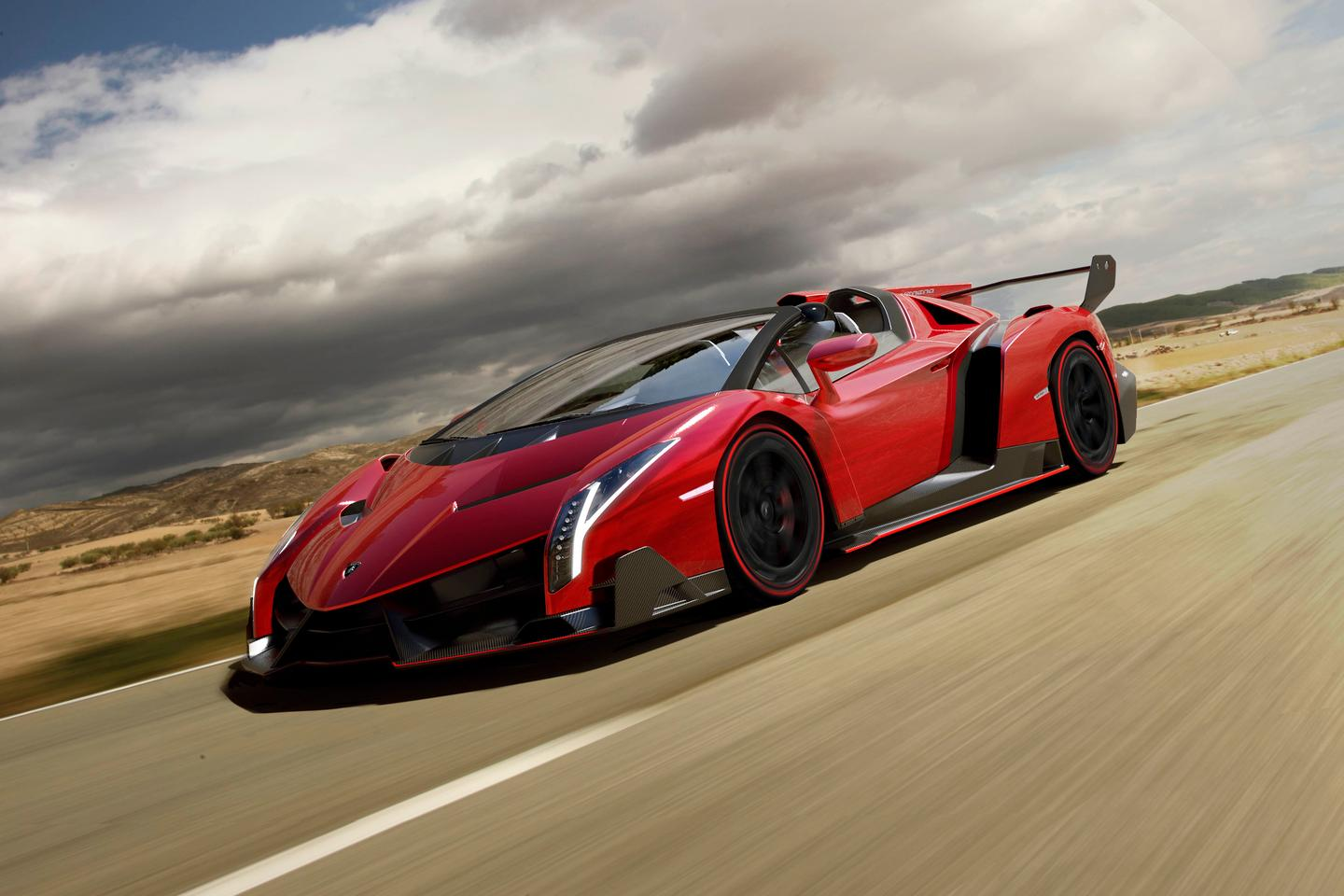 Lamborghini's new Veneno Roadster is priced out at a cool US $5.3 million, making it the most expensive model to come out of the Sant'Agata factory