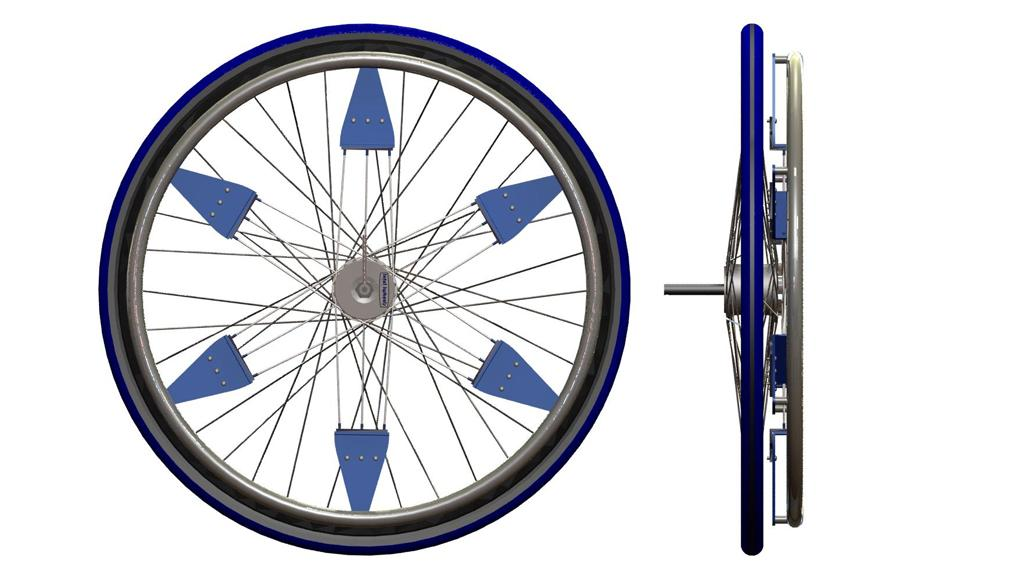 The IntelliWheels Automatic Gear-Shifting system