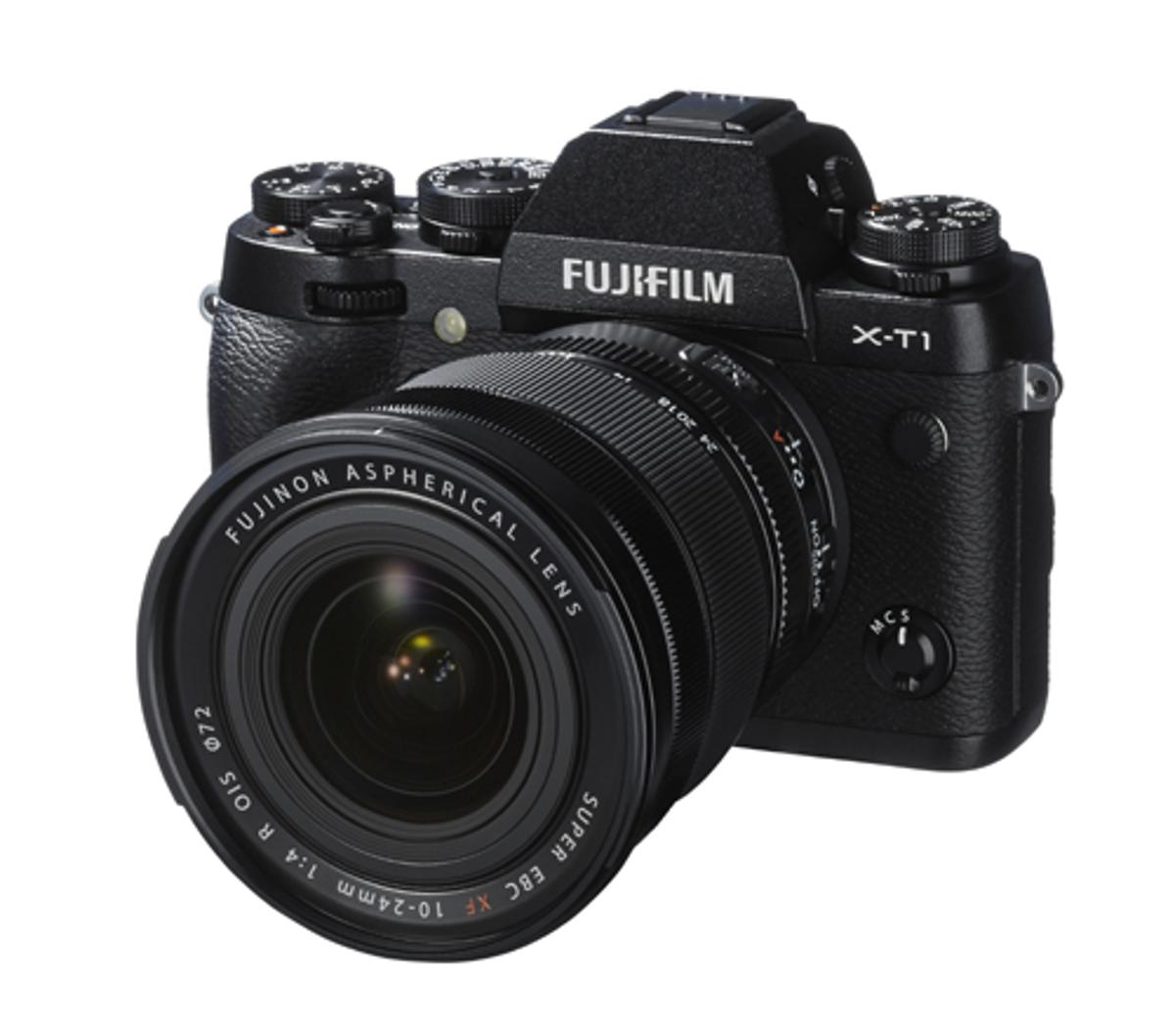 The Fujifilm X-T1 mirrorless interchangeable lens camera