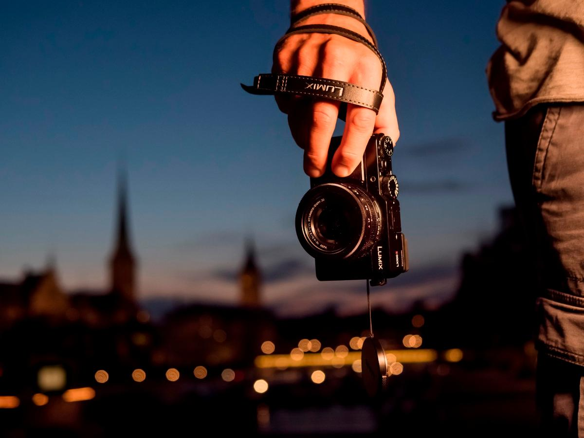The Lumix LX100 II is said to rival DSLRs for image quality, but its compact body makes it much easier to travel with