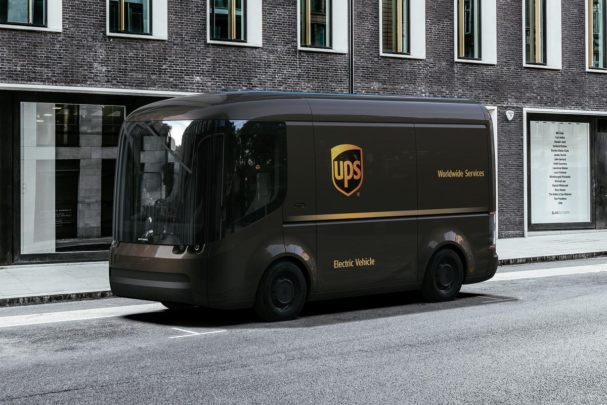 UPS has ordered 10,000 electric delivery vans from Arrival