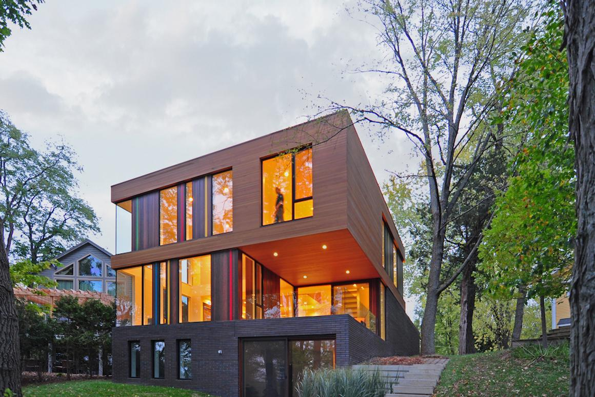 The Redaction House, by Johnsen Schmaling Architects, was one of five modern residences given the nod by AIA's judges (Photo: John J. Macaulay)