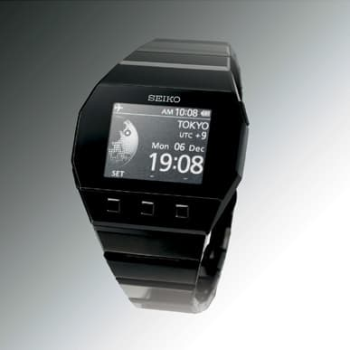 SEIKO's active matrix Electronic Ink watch