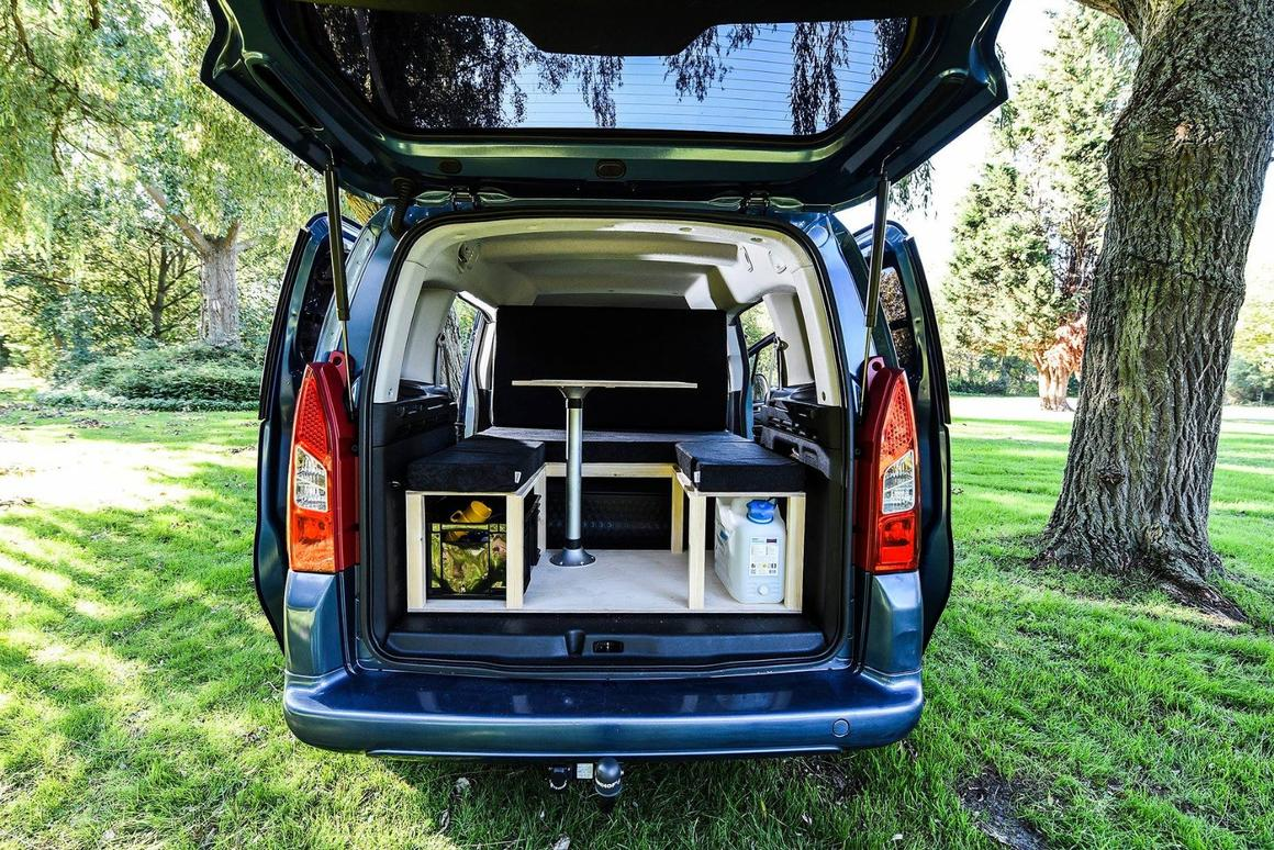 Simple offers basic but smart camper conversion kits for a variety of small vehicles