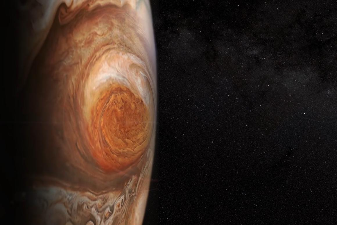 According to the study,Jupiter's Great Red Spot has been shrinking since 1878, with the exception of a brief expansion period in the 1920s