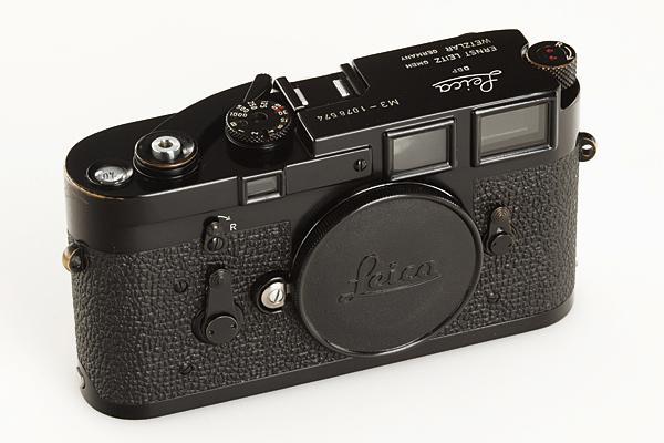 Leica M3 Single Stroke Black Paint no.1078574 (1963)