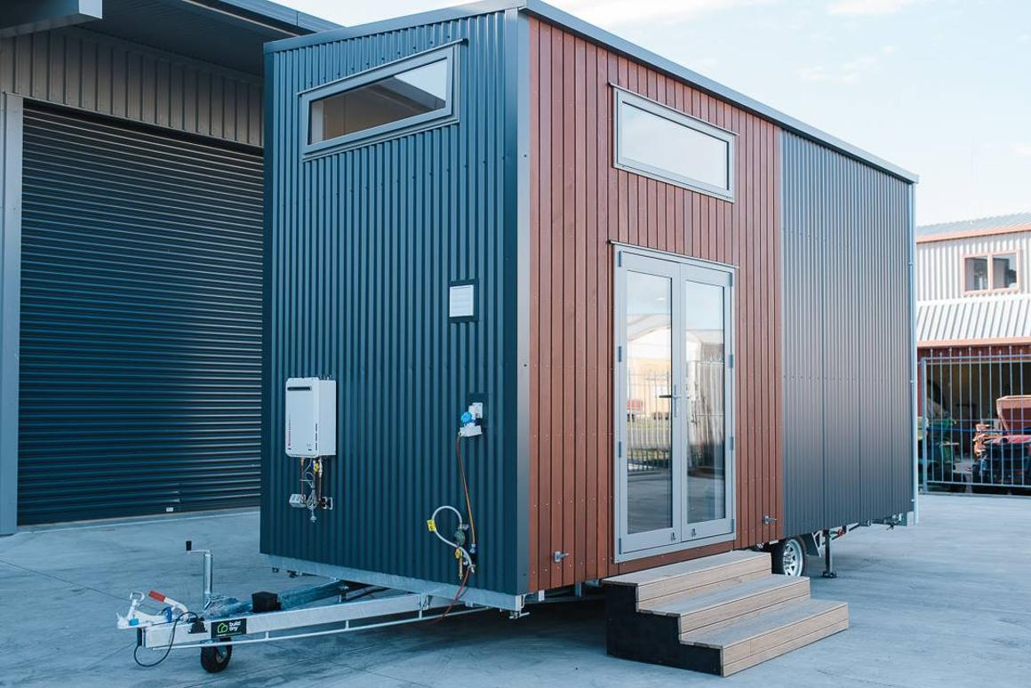The Larissa and Tyler Tiny House cost roughly NZD110,000 (US$71,600)