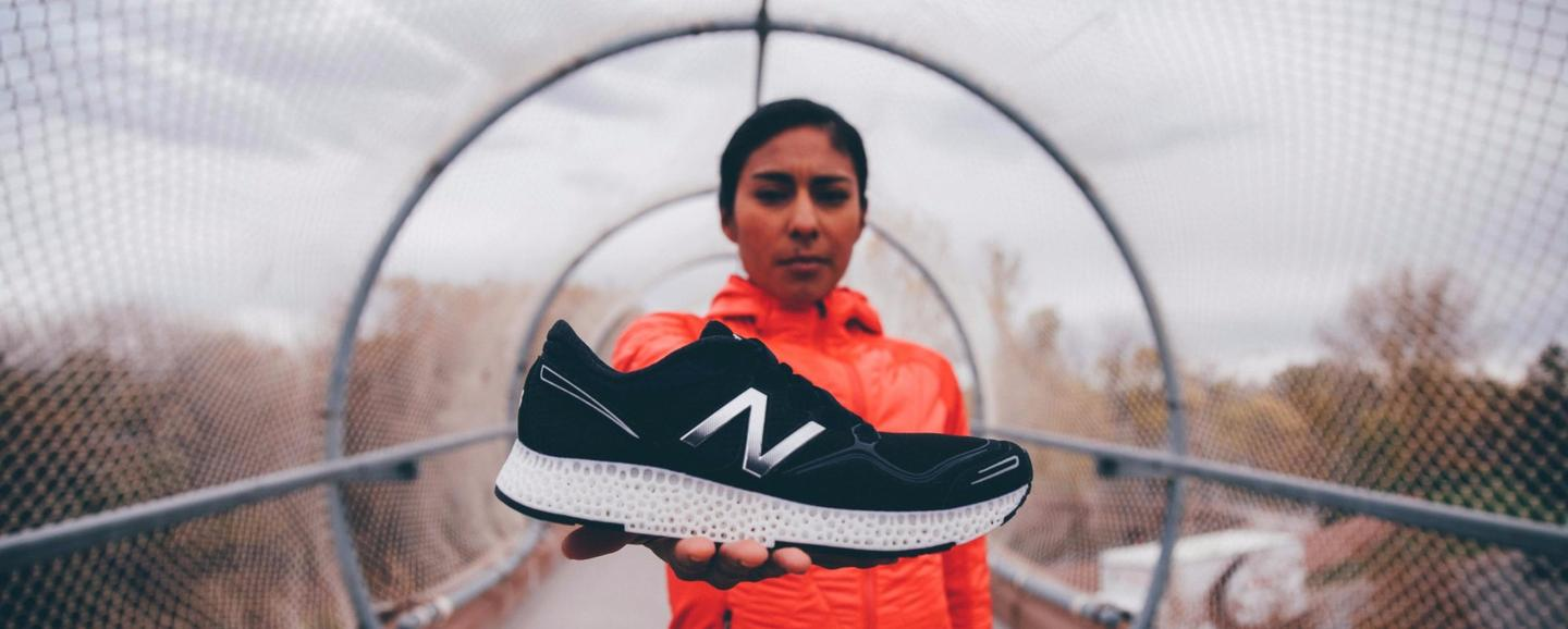 New Balance claims the running shoes with 3D-printed midsole will offer an unprecedented combination of strength and elasticity