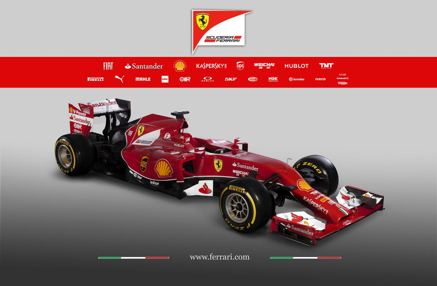 Ferrari's F14-T took two years of intensive research and engineering to design and meet F1's new regulations