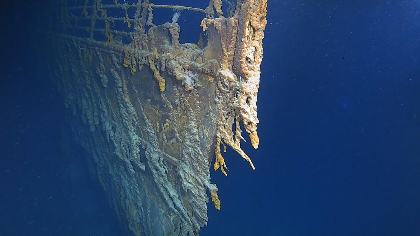The wreck of the RMS Titanic is deteriorating faster than thought