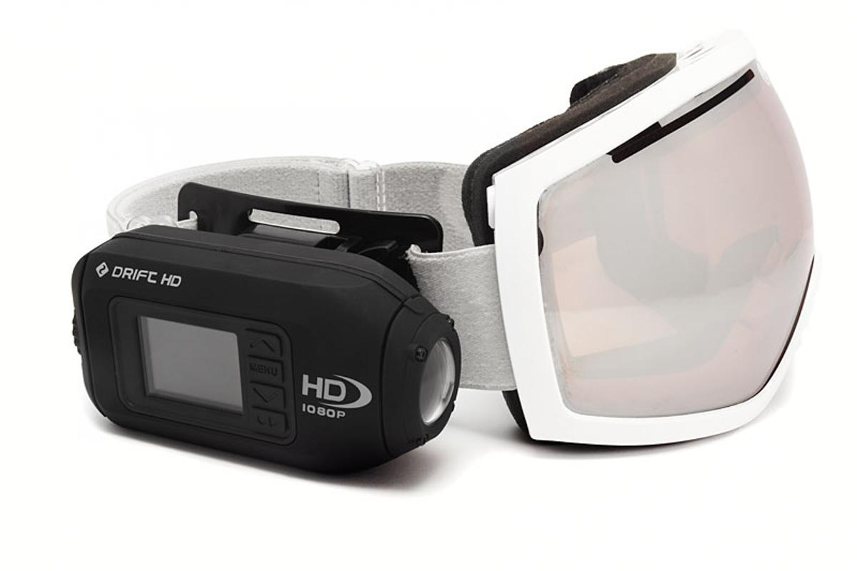 Drift Innovation is releasing a smaller, lighter version of its HD-170 actioncam, called the Drift HD