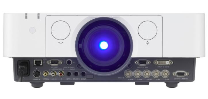 The Sony VPL-FX30 series is designed for smaller spaces like classrooms and boardrooms