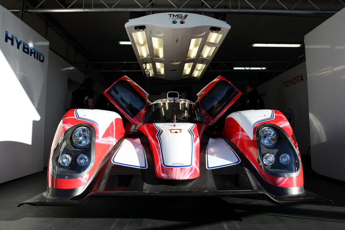 Toyota's TS030 Hybrid sports car