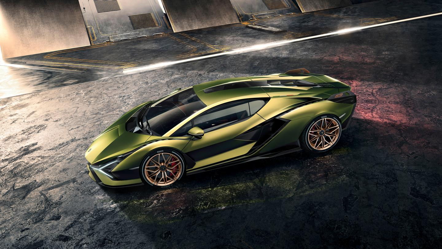 The Sián's design is pure Lamborghini, and very out there