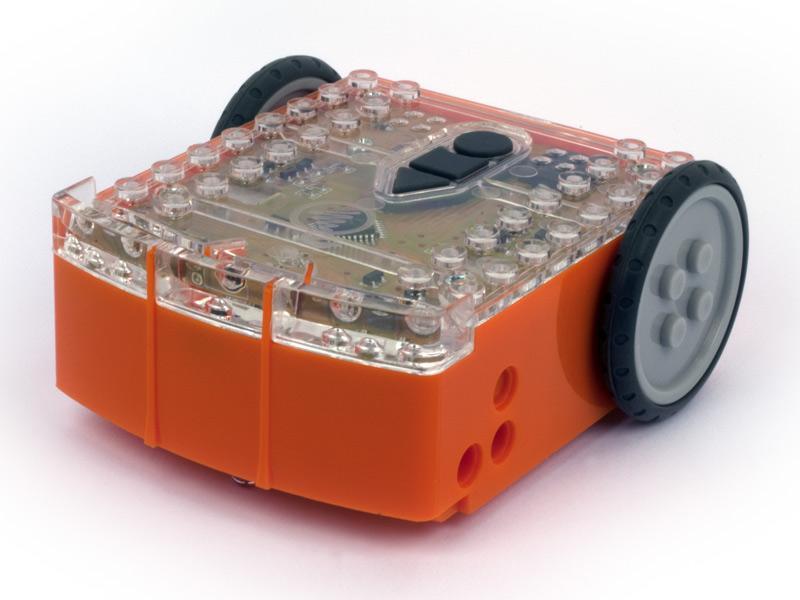 Edison is a sensor-laden, Lego-compatible programmable bot being offered on Kickstarter