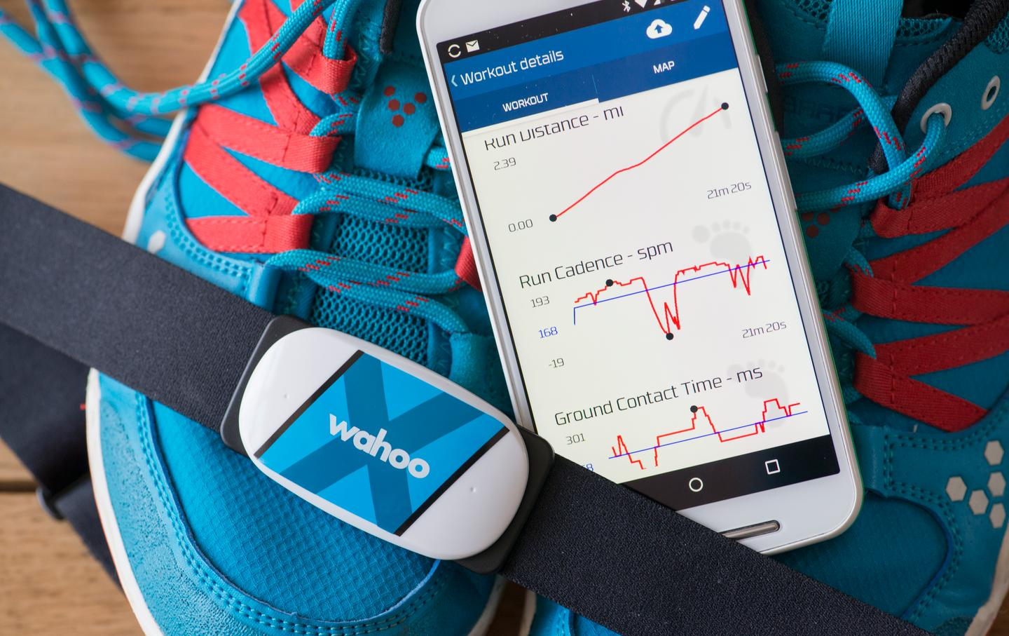 The Wahoo Fitness Tickr X is a chest-worn heart rate monitor and fitness tracker (Photo: Simon Crisp/Gizmag.com)