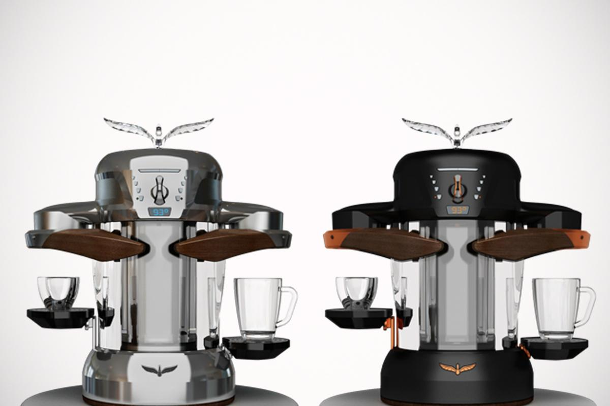 """""""La Fenice"""" makes both traditional Italian espresso and American filter coffee and uses up to 80 percent less energy than most other coffee machines"""