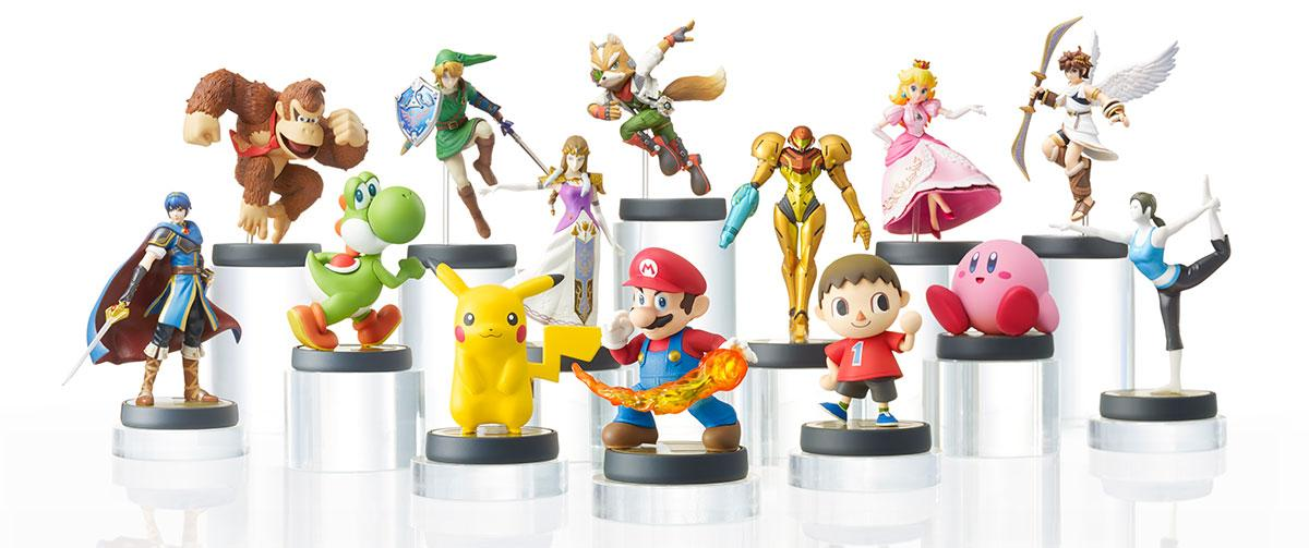 Nintendo's new Amiibo NFC enabled toys can store personal stats