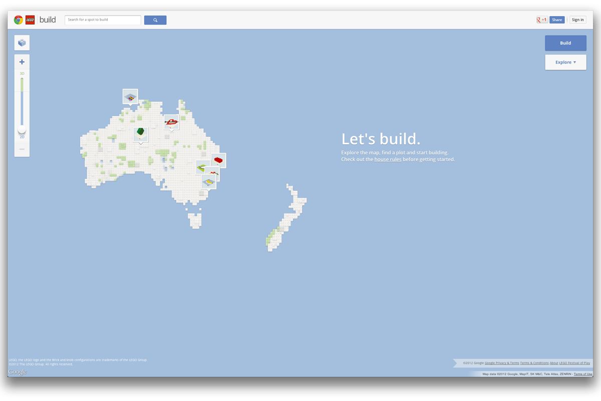 Google Australia has announced the release of Build with Chrome (or Build for short), perhaps the simplest online LEGO builder we've seen, and one that works right in your browser - as long as its Chrome