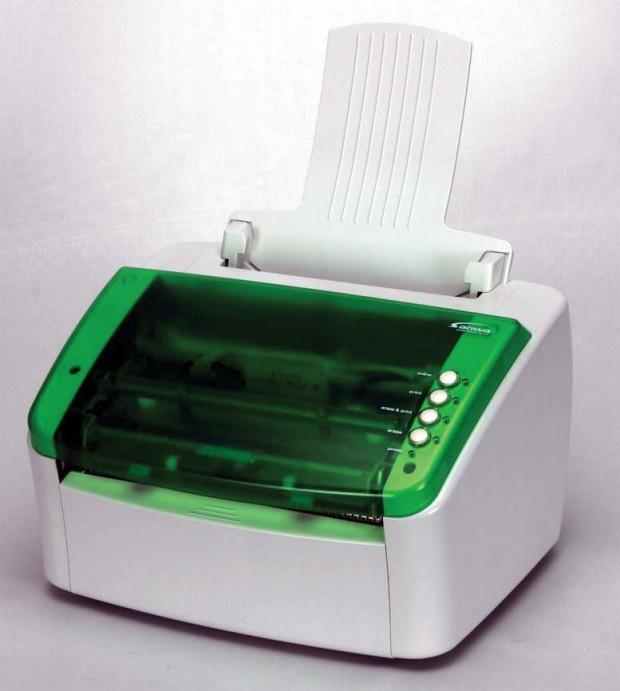 Prepeat rewritable printer uses no ink, toner or copy paper