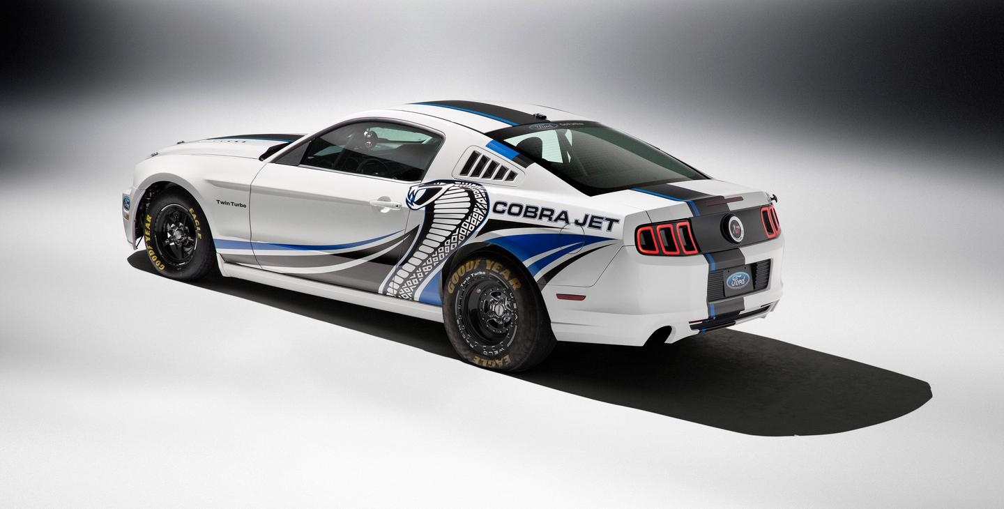 Mustang Cobra Jet >> Ford Shows Off Mustang Cobra Jet Concept With Twin Turbos