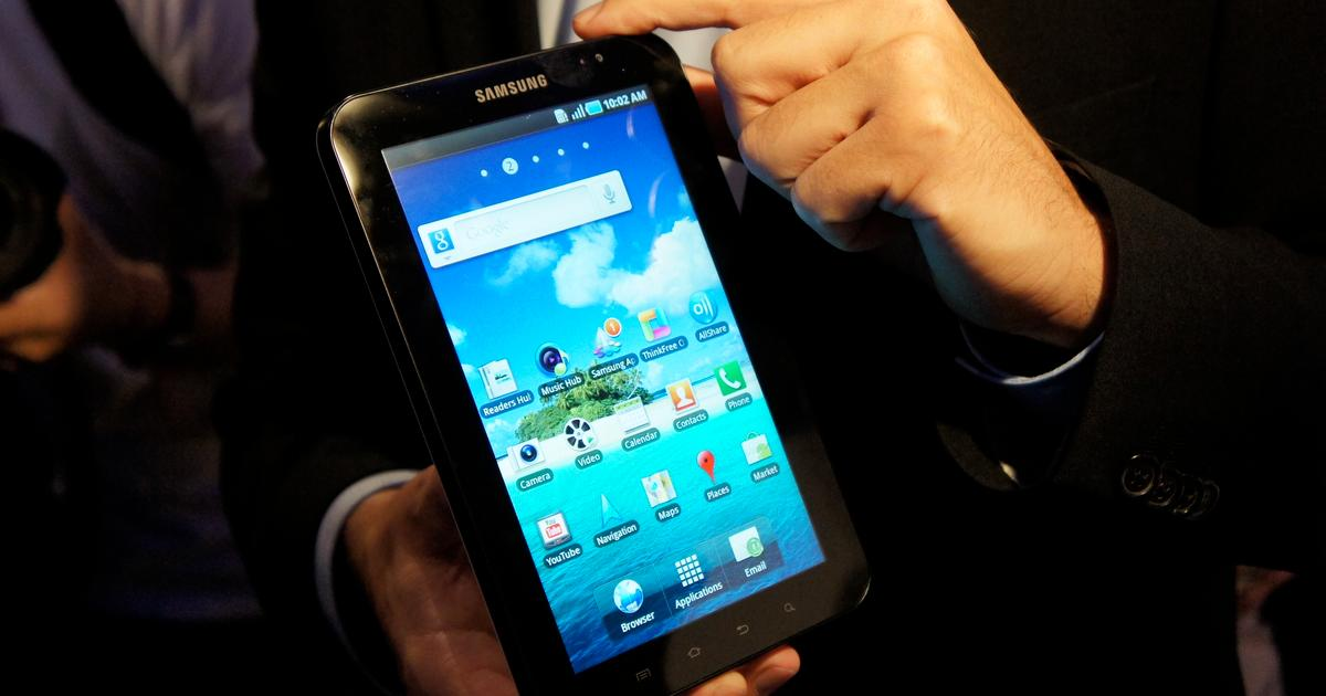 Samsung Galaxy Tab revealed