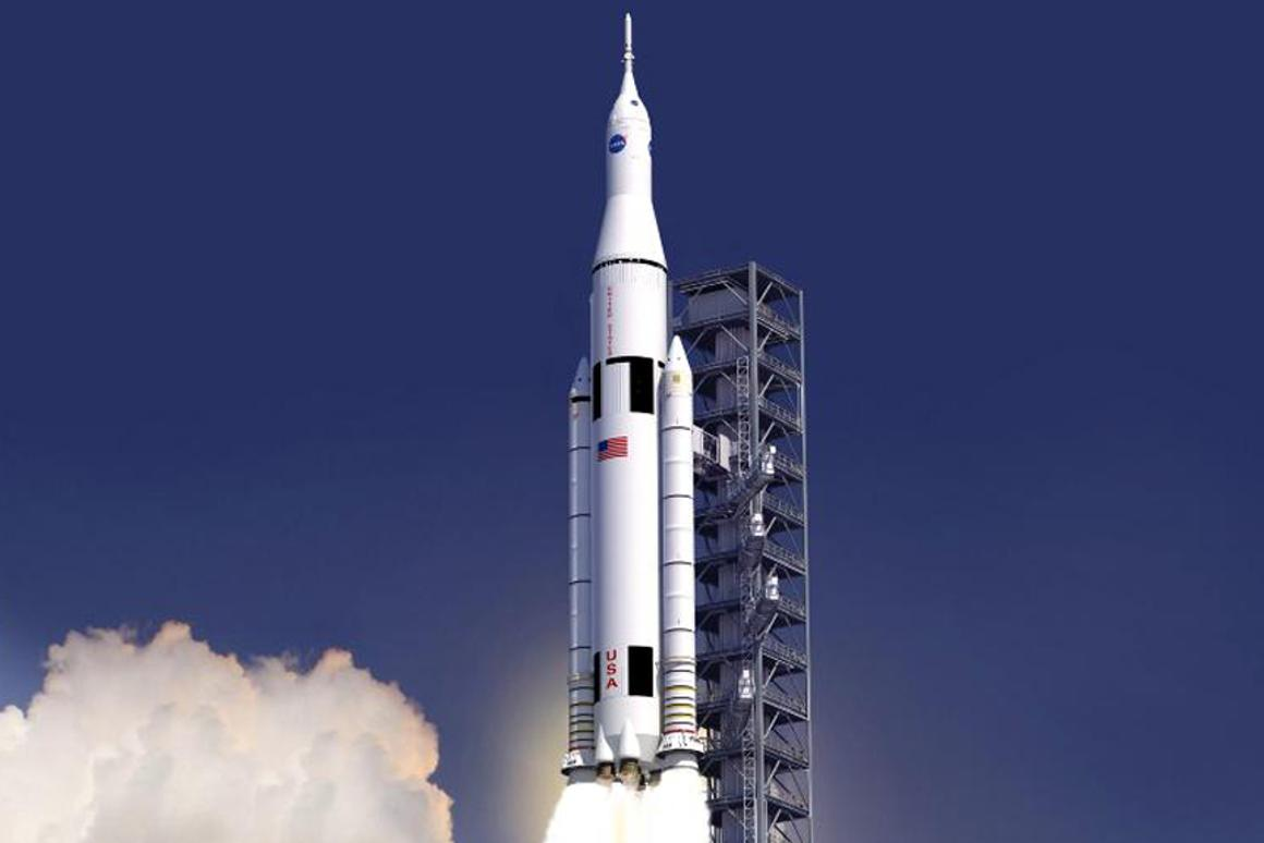 The Space Launch System (SLS) is designed to expand man's reach in the solar system (Image: NASA)