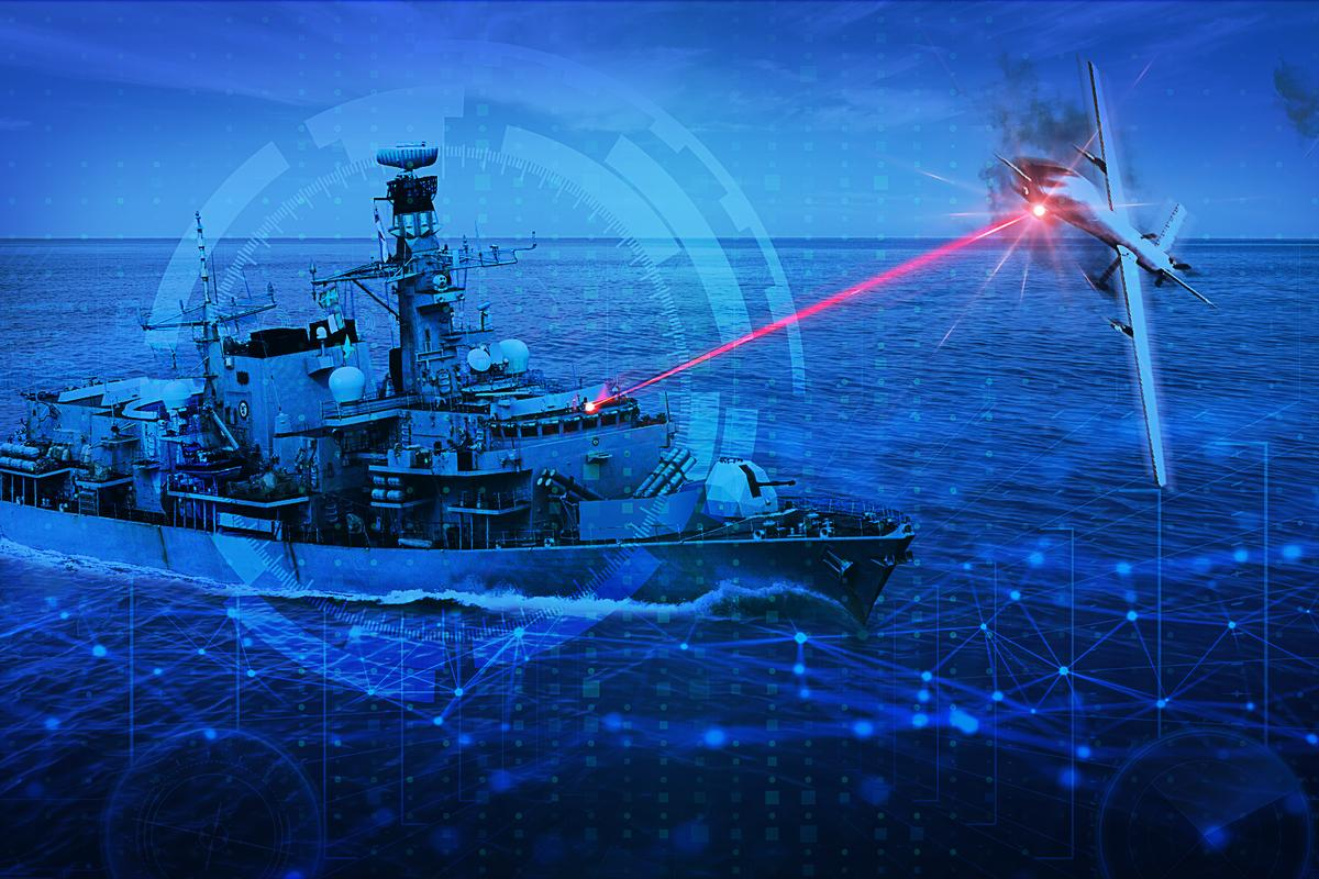 The program will test laser weapons at sea and on land