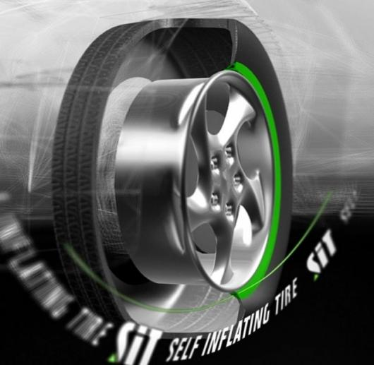 World's first integrated Self Inflating Tire system