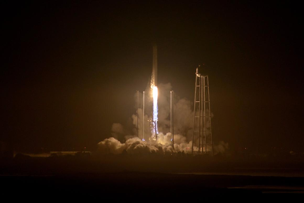 Antares booster makes a comeback as OA-5 blasts off for the ISS