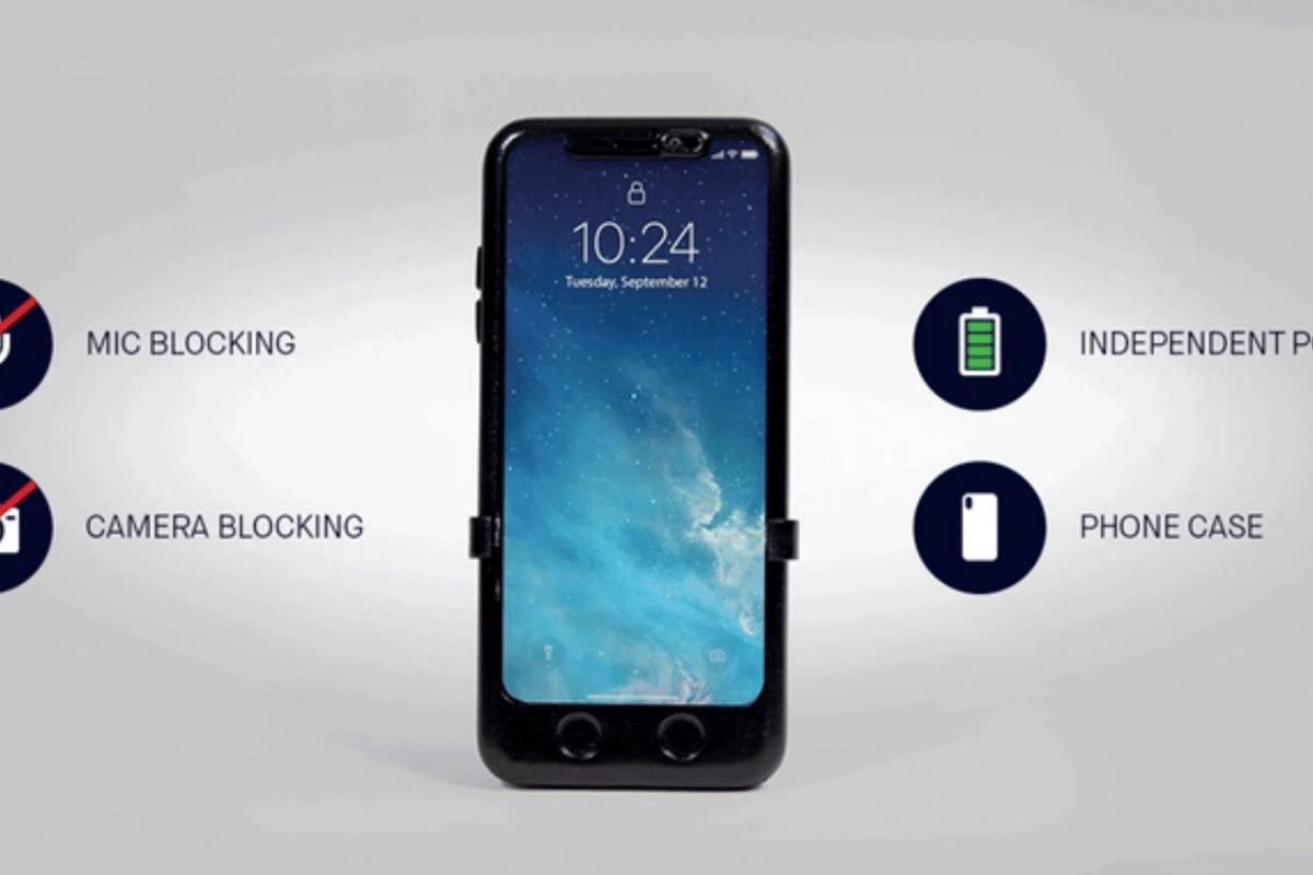 SMARTCASE was designed to do one thing: protect your phone from security breaches