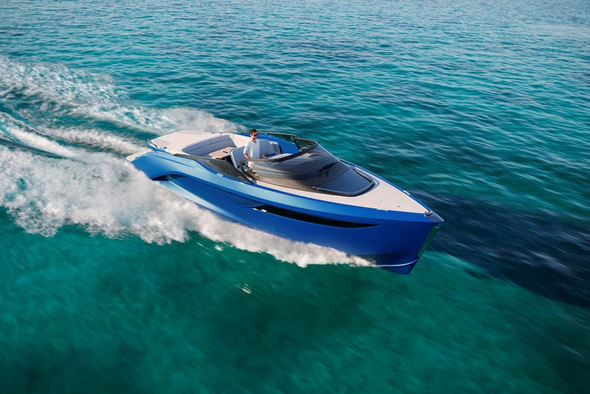 The R35 yacht is set to debut at the Cannes Yachting Festival in September