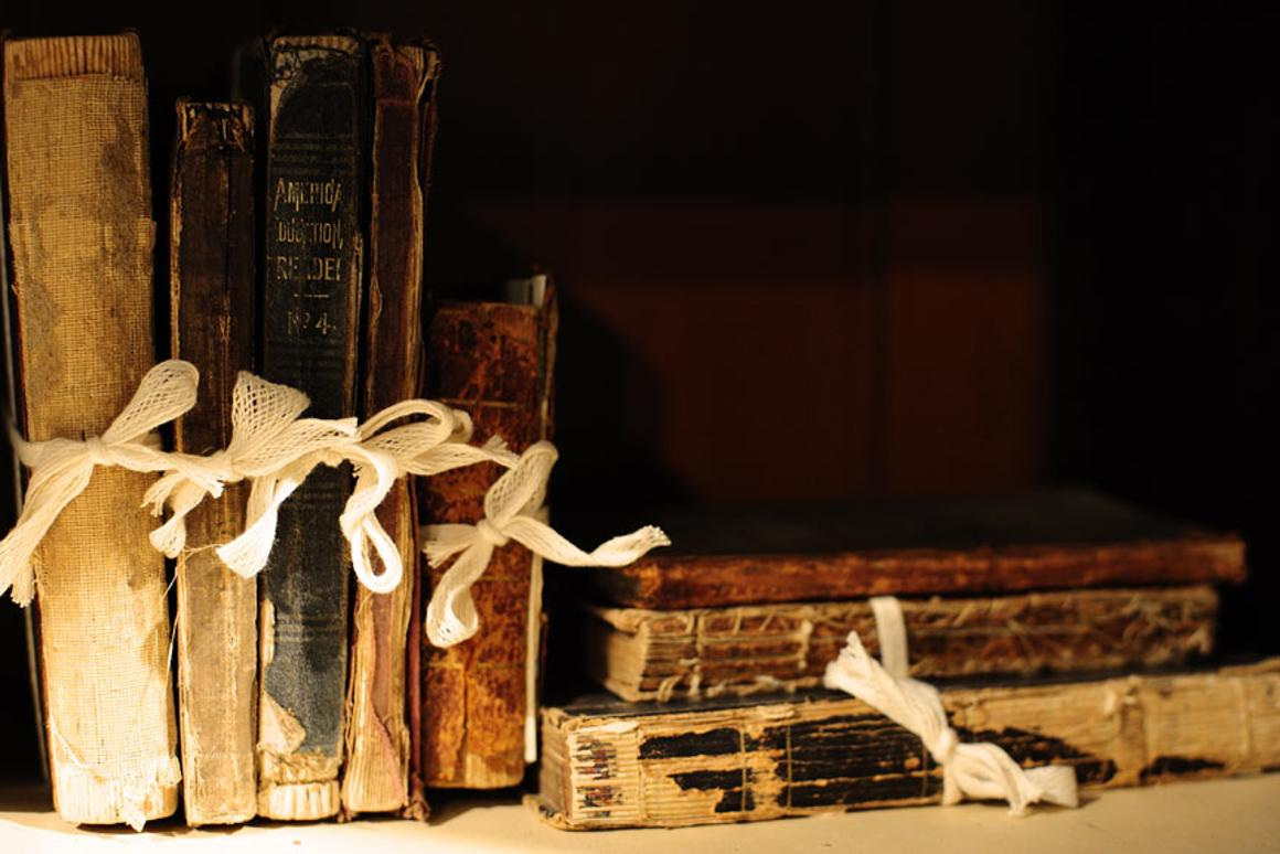 "A new nondestructive ""sniff"" test can measure the degradation of old books and documents (Photo: Tom Woodward)"