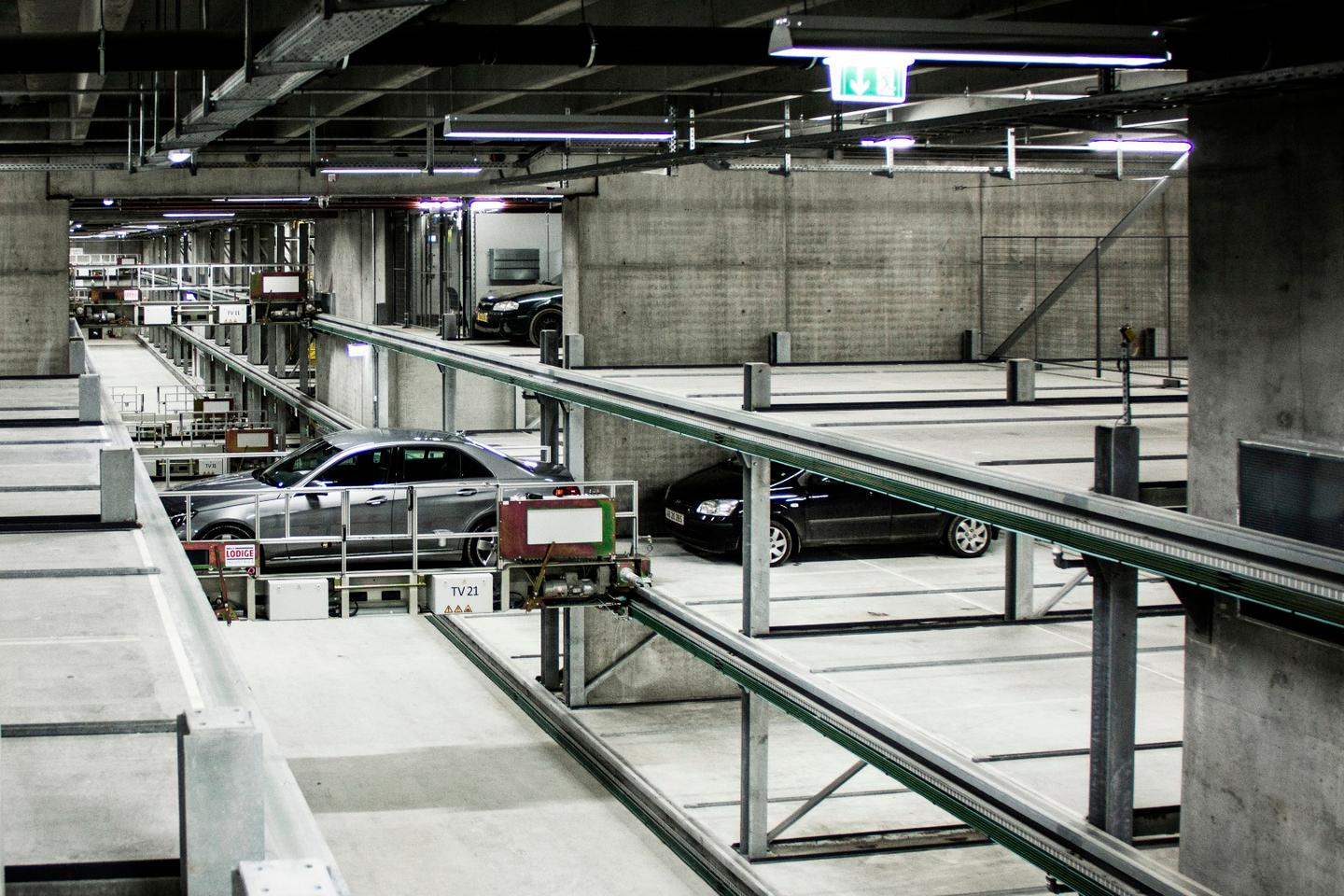 With a capacity for 1,000 cars, the Dokk1 automated car-park is said to be the largest of its kind in Europe