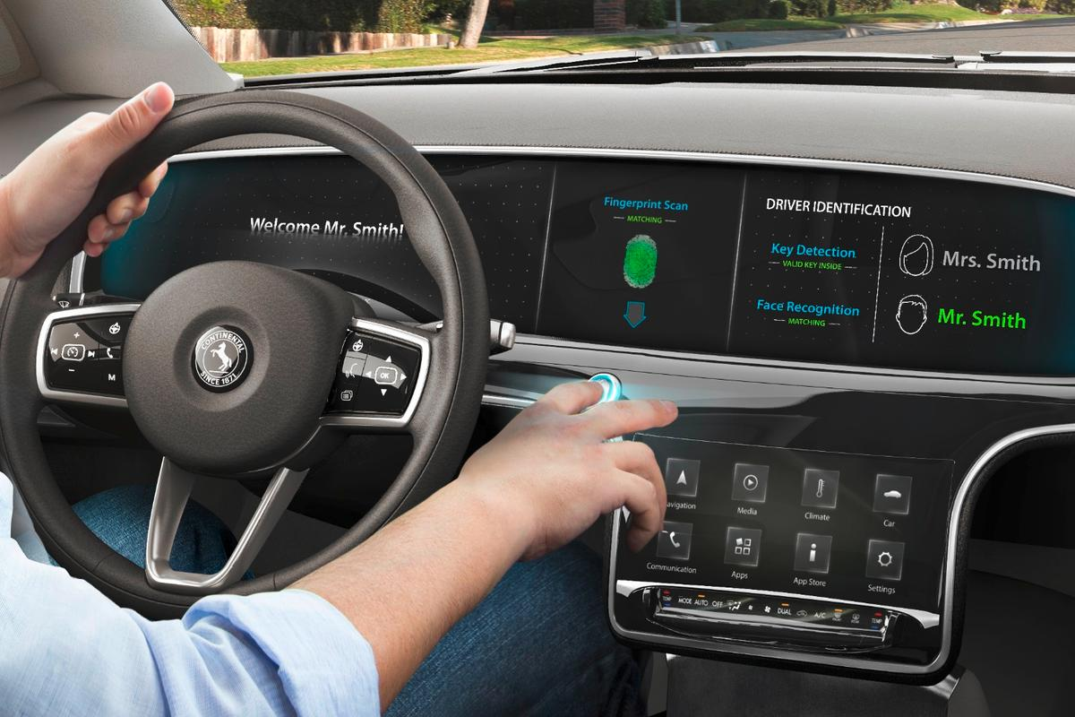 Continental will be showing off its latest in-car tech at CES 2017