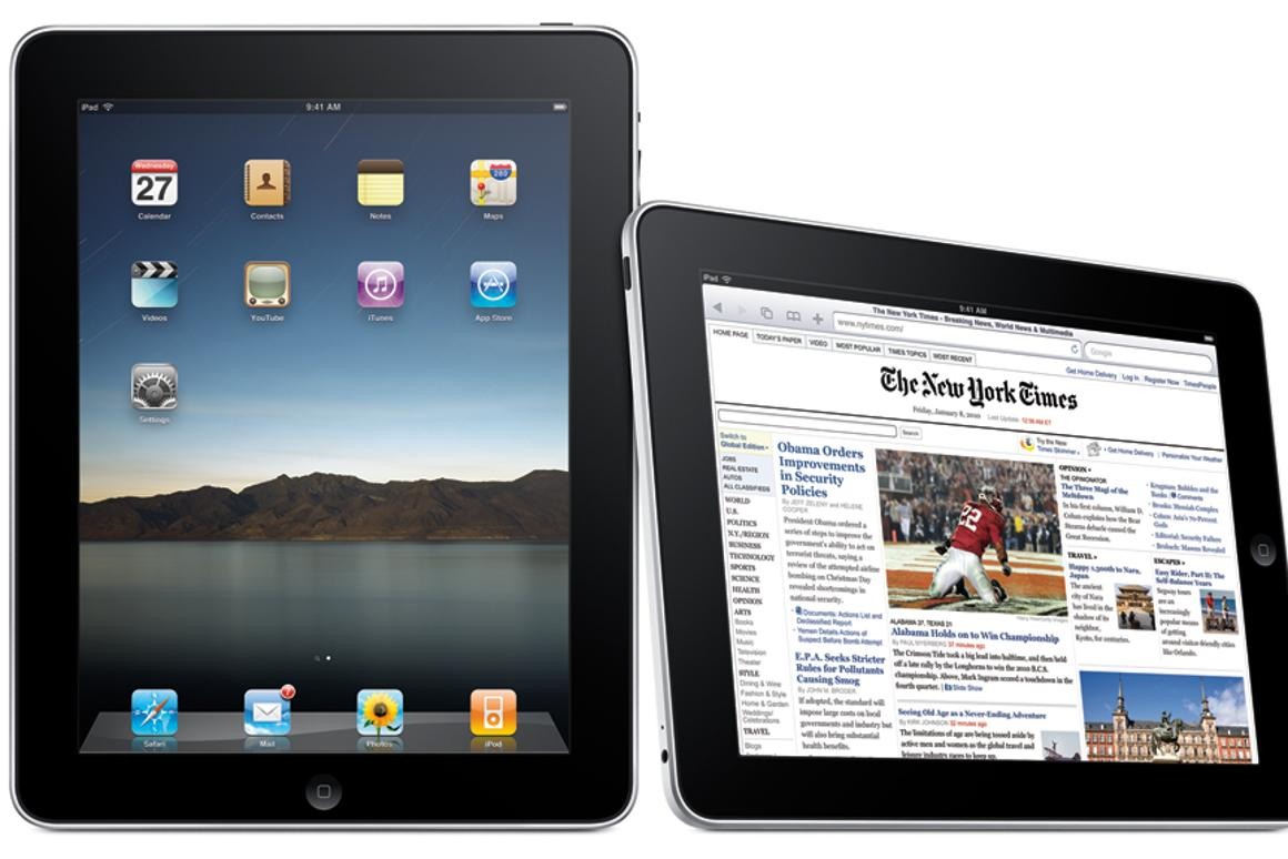 Apple's iPad will be released in another nine countries this Friday