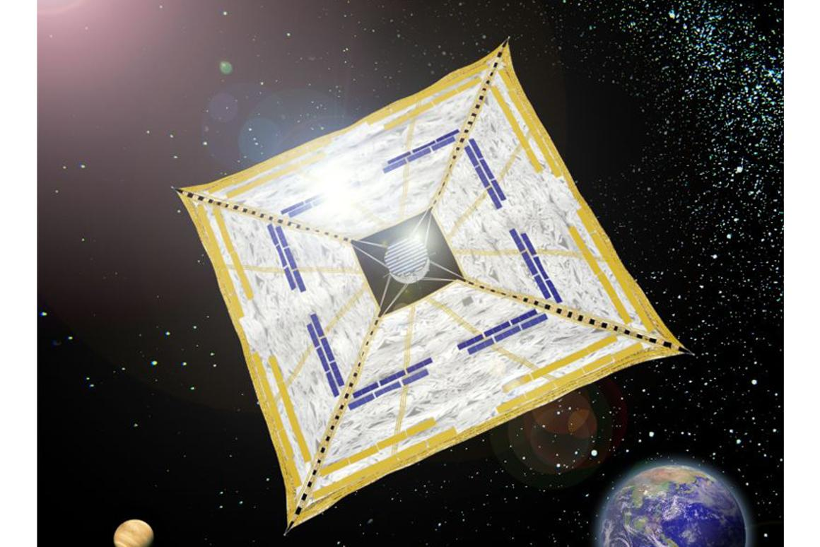 The IKAROS (Interplanetary Kite-craft Accelerated by Radiation Of the Sun) solar sail