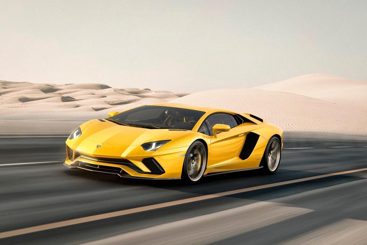 The new Lamborghini Aventador S