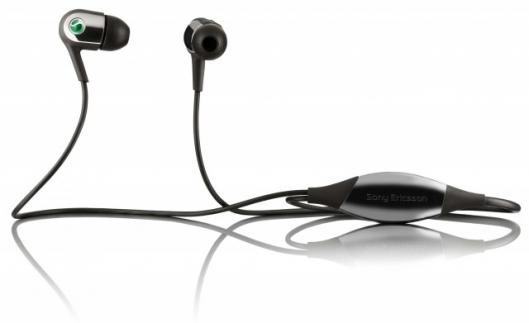 The motion-sensitive MH907 earphones from Sony Ericsson