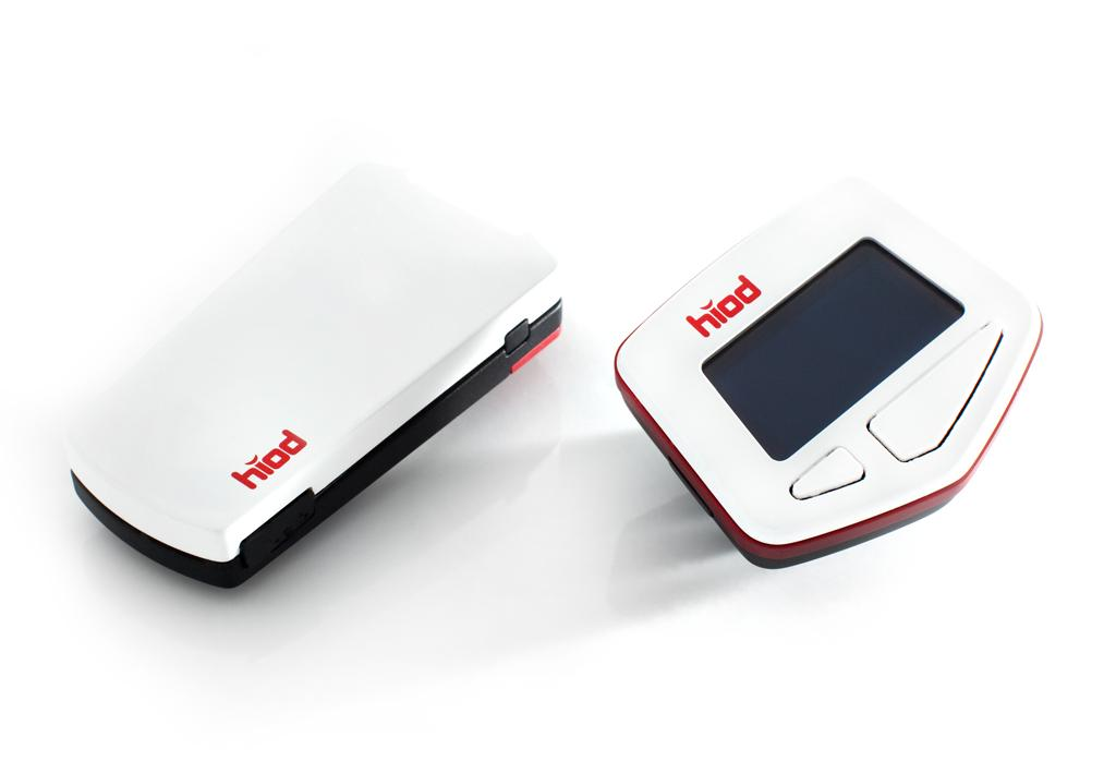 HIOD One is a Bluetooth communications system designed for cyclists