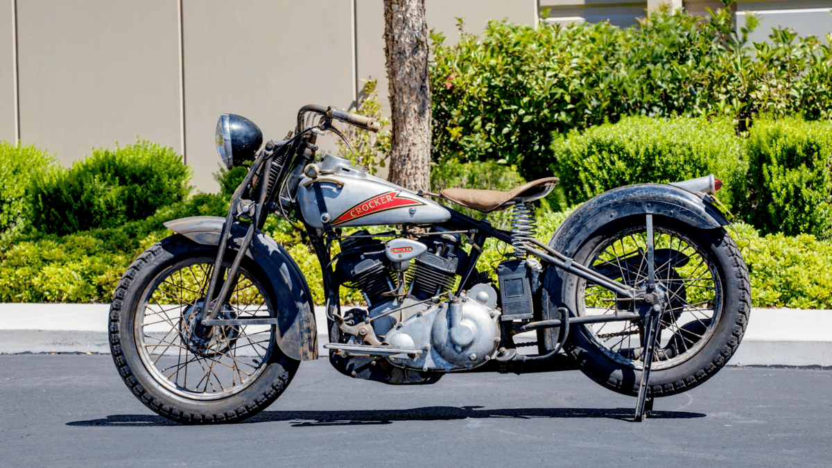 1936 Crocker Small Tank |  Mecum | Estimated price range: $700,000 to $800,000 | Official Auction Page