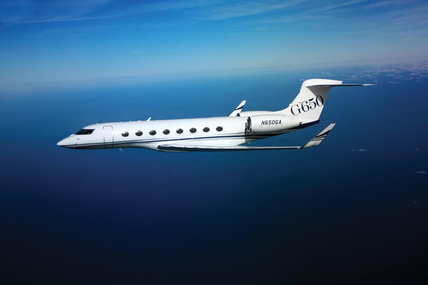 A Gulfsteam G650 has set a new world record for the fastest westbound, around-the-world flight for a non-supersonic aircraft (Photo: Gulfstream)