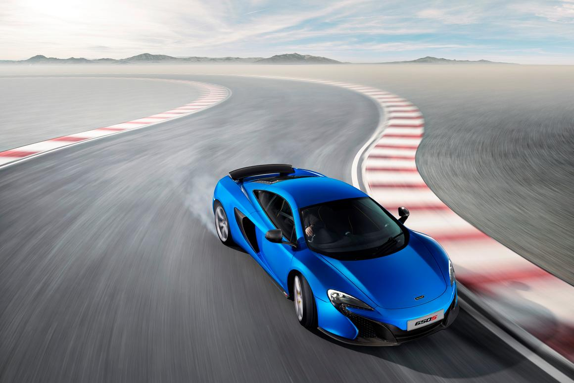 Appearing in Geneva next week, the 650S delivers a top speed of 333 km/h (207 mph) and the ability to hit 200 km/h (124 mph) in only 8.4 seconds
