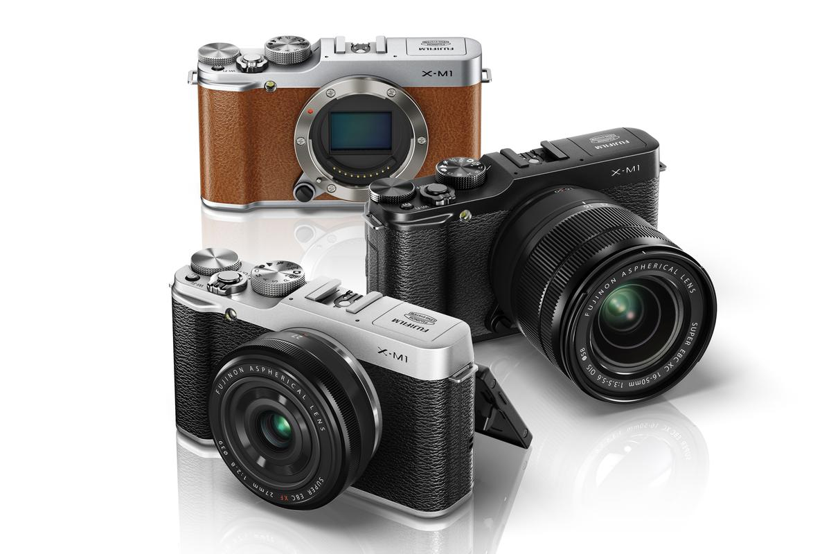 The Fujifilm X-M1 interchangeable lens camera system