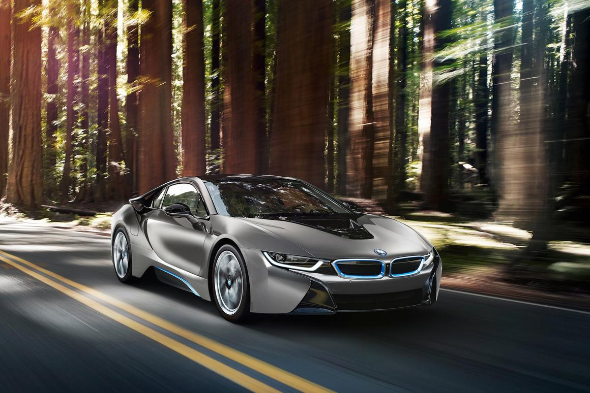 The one-of-a-kind BMW i8 Pebble Beach Concours d'Elegance Edition