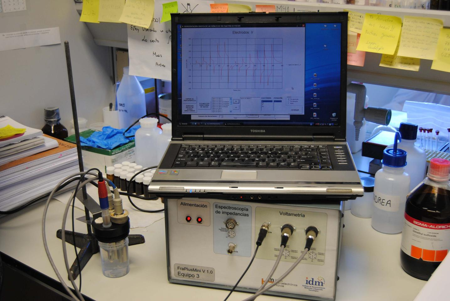 Spanish researchers have developed an 'electronic tongue' for analyzing the content of antioxidant powders, along with fruit and fruit products (Photo: UPV)