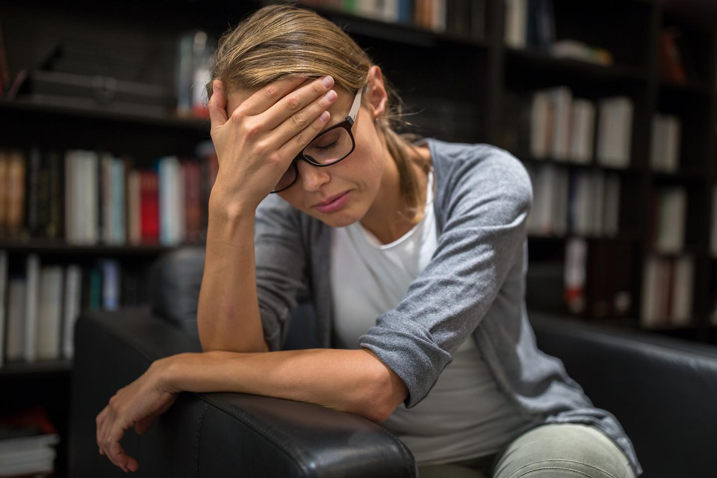 People with major depressive disorder have higher levels of the GPR158 receptor protein