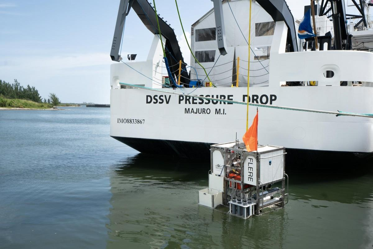 DSSV Pressure Drop and lander